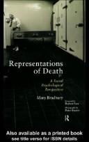 Cover of: Representations of Death | Mary Bradbury