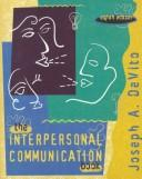 Cover of: Interpersonal Communication