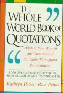 Cover of: The Whole World Book of Quotations