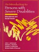 Cover of: Introduction to Persons with Severe Disabilities, An