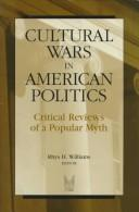 Cover of: Cultural Wars in American Politics