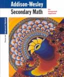 Cover of: Secondary Math Focus on Advanced Algebra