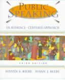 Public Speaking by Steven A. Beebe