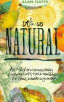 Cover of: It's So Natural