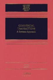 Cover of: Commercial transactions