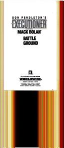Cover of: Battle Ground | Don Pendleton
