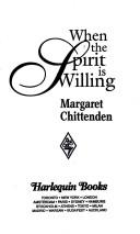 Cover of: When the Spirit Is Willing