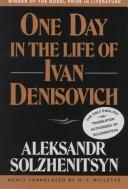 Cover of: One Day in the Life of Ivan Denisovich