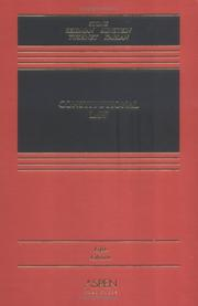 Cover of: Constitutional Law