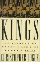 Cover of: Kings