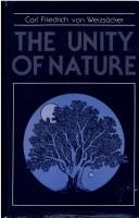Cover of: Unity of Nature