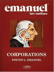 Cover of: Corporations