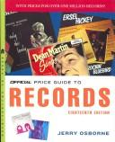 Cover of: The Official Price Guide to Records 18th Edition (Official Price Guide to Records)