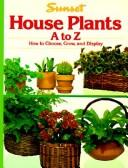 Cover of: Sunset house plants