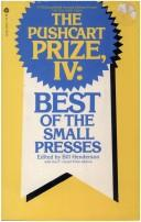 Cover of: The Pushcart prize, IV | Bill Henderson