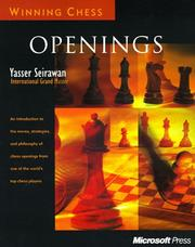 Cover of: Winning chess openings