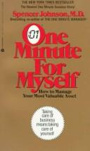 Cover of: One Minute for Myself