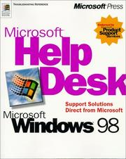 Cover of: Microsoft(r) Help Desk For Microsoft Windows(r) 98
