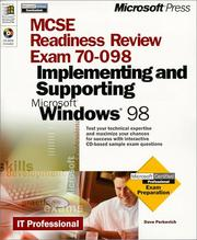 Cover of: Mcse Readiness Review -- Exam 70-098