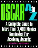 Cover of: Oscar A to Z | Charles E. Matthews