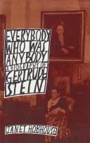 Everybody who was anybody by Janet Hobhouse