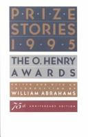 Cover of: Prize Stories 1995 (Prize Stories)