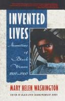 Cover of: Invented Lives