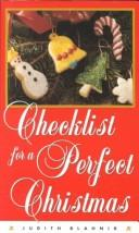 Cover of: Checklist for a Perfect Christmas (Checklist Series , No 4)