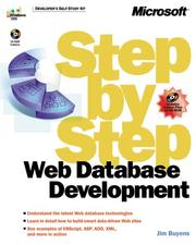 Cover of: Web Database Development  | Jim Buyens
