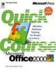 Quick Course(r) in Microsoft(r) Office 2000 by Online Press Inc., Inc. Online Press