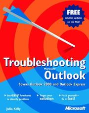 Cover of: Troubleshooting Microsoft Outlook