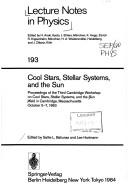 Cover of: Cool Stars, Stellar Systems, and the Sun
