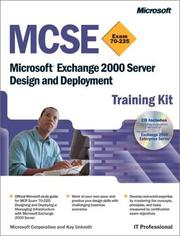 Cover of: MCSE Training Kit | Microsoft Corporation.