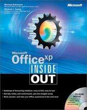 Microsoft Office XP Inside Out by Michael Halvorson, Michael J. Young