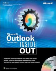 Cover of: Microsoft Outlook Version 2002 Inside Out | Jim Boyce