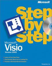 Cover of: Microsoft Visio Version 2002 Step by Step | Resources Online