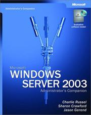 Microsoft Windows Server 2003 Administrator's Companion by Sharon Crawford, Charlie Russel, Jason Gerend