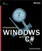 Cover of: Programming Windows with C# (Core Reference)