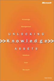 Cover of: Unlocking Knowledge Assets | Susan Conway