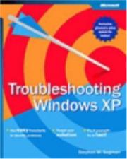 Cover of: Troubleshooting Microsoft Windows XP | Stephen W. Sagman
