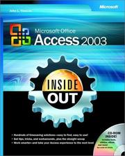 Cover of: Microsoft Office Access 2003 Inside Out | John L. Viescas
