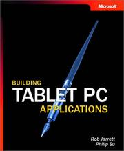 Cover of: Building Tablet PC Applications | Rob Jarrett