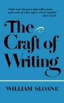 Cover of: Craft of Writing | William Sloane