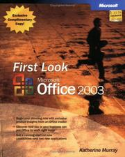 Cover of: First Look Microsoft Office 2003