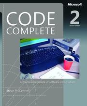 Cover of: Code Complete | Steve McConnell
