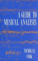 Cover of: A guide to musical analysis