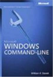 Cover of: Microsoft  Windows  Command-Line Administrator's Pocket Consultant (Pro - Administrator's PC)