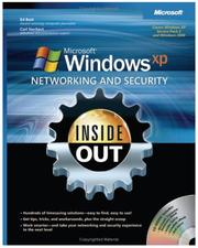 Cover of: Microsoft  Windows  XP Networking and Security Inside Out | Ed Bott