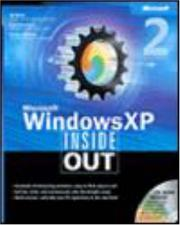 Cover of: Microsoft Windows XP inside out