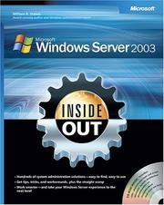 Cover of: Microsoft  Windows Server(TM) 2003 Inside Out